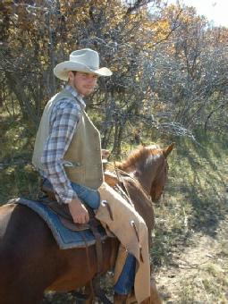 Christian ranch cowboy Jonathan Longwell