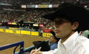 Christian cowboy Steward Black is familiar with the importance of cowboy church at rodeos and bull ridings.